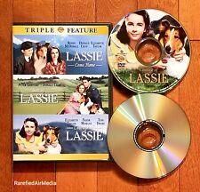 Lassie Come Home/Son of Lassie/Courage of Lassie (DVD, 2006, 2-Disc Set)