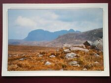 POSTCARD SUTHERLAND SUILVEN FROM BEHIND STAC POLLY