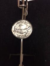 "Mark Antony DENARIO moneda WC70 Bufanda Broche y Kilt Pin estaño 3"" 7.5 Cm"