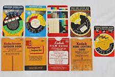 Nice assortment: 1940s KODAK pocket Guides w/Dials.  Total of 5