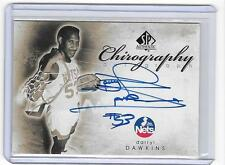 DARRYL DAWKINS 2008/9 UPPER DECK SP AUTHENTIC CHIROGRAPHY AUTOGRAPH