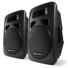 2 DJ PA AKTIV BOXEN ABS KONZERT LAUTSPRECHER SET 2x 800 MAX  SOUND AKTIVBOXEN
