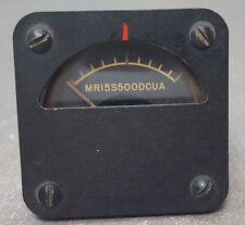 DeJur Amsco Corp. Model 112 FS= 500UA, 300Ω DC, MR15S500DCUA Meter