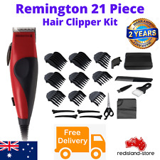 Remington Electric Hair Clippers 21Pce Mens Clipper Trimmer Shaver Home Haircut