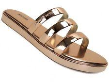 Michael Kors Keiko Slide Sandals Rose Gold 6m