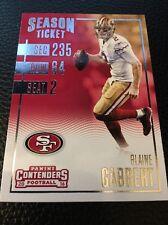 Blaine Gabbert  49ers 2016 Panini Contenders #19