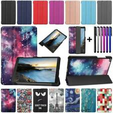 For Samsung Galaxy Tab A 8.0 2019 T290 8 inch Slim PU Leather Stand Case Cover