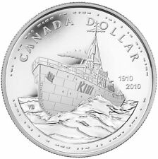 Canada Brilliant Silver Dollar Coin - 100th Anniversary of the Canadian Navy