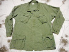 original 1969 og 107 green US ARMY VIETNAM War 3RD Pat BDU jungle COAT JACKET L