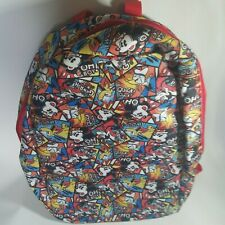 Disney Parks comic Mickey, Donald,Goofy and Pluto backpack Nwt