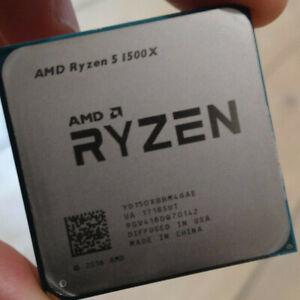AMD Ryzen 5 1500X R5 1500X CPU YD150XBBM4GAE 3.5GHz 4-Core 8-Core Processor US