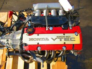 04-07 HONDA S2000 AP2 F22C ENGINE 6SPEED TRANSMISSION S2K VTEC MOTOR 59000 Miles
