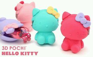 3D Pochi Hello Kitty Mint Green
