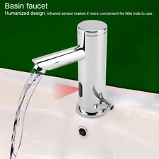 Sensor Infrared Faucet Automatic Turning Faucet Hot And Cold Basin Faucet Toilet