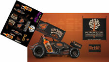 CD_SC_079 #4 Cap Henry Beer Barrel Bourbon Sprint Car   1:64 Decals