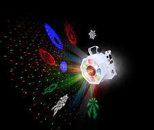 Kam Gobostar White Sweeping Gobo Effect & Star Cluster Laser DJ Disco Effect DMX