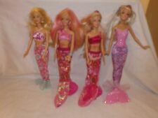 poupée sirènes barbie  2 en 1 sirene surfeuse sercret tatouage vendu à l'unitée