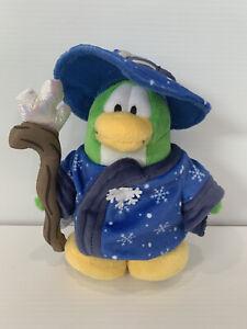 Disney Club Penguin Blizard Wizard - Collectors Item Plush Magician
