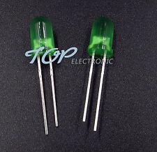 100Pcs LED F5 5MM Green COLOR Green LIGHT Super Bright Bulb Lamp
