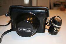 Vintage Yashica ELECTRO 35 GSN Rangefinder Camera & Film Case Vietnam Saigon EUC