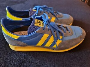 Adidas TRX 2009 vintage Blue/yellow- Mcvicar UK9