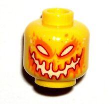 LEGO NEXO KNIGHTS YELLOW FIRE MINIFIGURE HEAD ULTIMATE FLAMA 70339