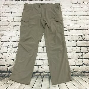 5.11 Tactical Series Men's Pants Tech Fabric Stretch Beige Tan Size 44x34
