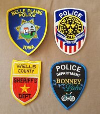 USA - 4 x Different Police Patches #6