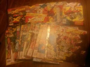 X-Force Lot Of 28 Marvel Comics #1-4,14-19, 22-27,29-33,35,38,39,41,42,44 Ann #1