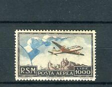 San Marino  1951 lire 1000 bandiera mnh