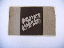 catalogue ancien 1939 pompes groupes centrifuges