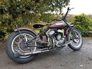 Harley Davidson 1942 WLA 45  Flathead  Bobber TROG