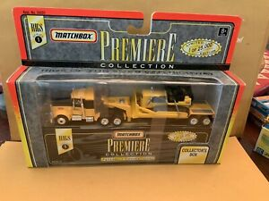 Matchbox Premiere Rigs Collections Peterbilt Cab Hauling Bulldozer From Series 1