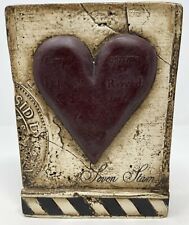 Sid Dickens Memory Block Tile Seven of Hearts T-175 Retired