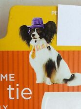 Dog Hat & Tie Dress Up Costume Size S  5 - 15 lbs 2.2 kg - 6.8 kg Small Bred