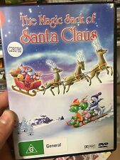 The Magic Of Santa Claus ex-rental region 4 DVD (animated Christmas movie) rare