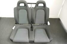 VW SCIROCCO REAR BACK SEAT IN BLACK & GREY CLOTH 2008 - 2015
