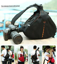 DSLR SLR Digital Sling Camera Case Shoulder Bag Backpack For NIKON CANON Sony