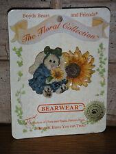 Boyds Bears 1999  ~SUNSHINE...ON MY SHOULDER~ BEARWEAR PIN  STYLE# 26131