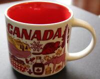 Starbucks 2018 Been There Series Canada 14oz Coffee Tea Mug Brand New