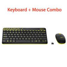 MK240 Nano Logitech Laptop 2.4G Kabellose Tastatur USB für Computer PC + Mouse