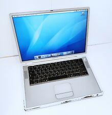 "Apple Titanium PowerBook G4 A1001 - 15"" Screen - 800MHz - 512MB RAM - 40GB"