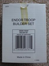 ** STAR WARS ENDOR TROOP BUILDER ACTION FIGURE SET NEW **