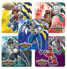 """25 Power Rangers Dino Charge Stickers, 2.5"""" x 2.5"""" each, Party Favors"""