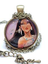 Indiano Perline #necklace Deluxe Pocahontas Vestito Accessorio Costume