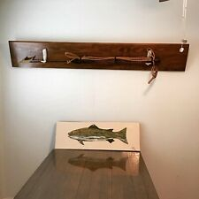"Vintage Whale Harpoon 58"" Maritime Toggle Wood Spear Fishing Replica"