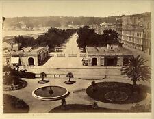 Photo Albuminé Napoli Naples Italie Vers 1870/80 # 8