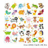 1PC Animals Patches Heat Transfer Iron On Patch Washable Clothes Stickers Crafts