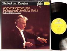 DGG SIGNATURE Wagner Schoenberg KARAJAN Siegfried/Verklarte Nacht 2543 510 NM