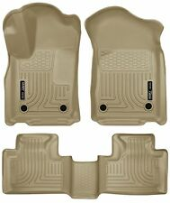 Husky Liners WeatherBeater Floor Mats- 3pc- 99153 - Durango/Cherokee 16-18 - Tan